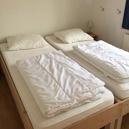 Genießen Sie komfortable Betten